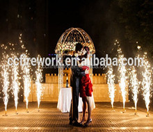 Hot sale 3M30S,4M30S stage cold fireworks for wedding/cold pyro silver fountains/waterfall fireworks/ indoor fireworks for sale