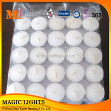 Hot Sale Competitive price Cream Color Unique Round Shaped Floating Candles
