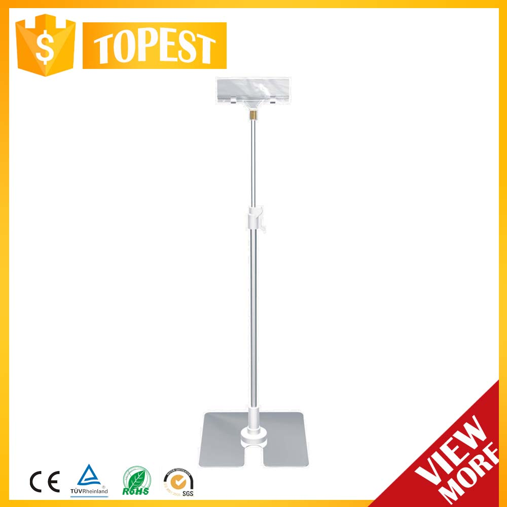 Wholesale Metal Display Table Top POP Stand for supermarket HAN-ZB15 1746