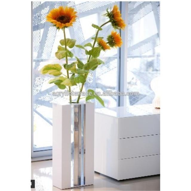 Acrylic Tabletop Flower Vaseyuanwenjun