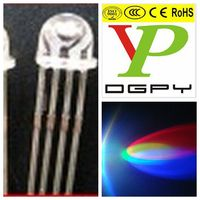 Straw Hat 3color LED Diode With Super Brightness