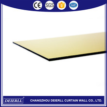 Professional wall cladding acp aluminum composite panel with low price