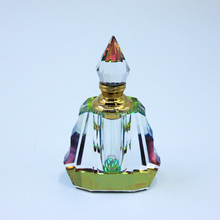 Muslim islamic crystal gift arabic crystal perfume oil bottles with glass stick