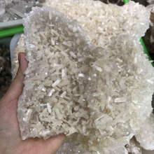 Beautiful natural mineral apophyllite with zeolite specimens