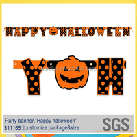 Halloween Hanging Decoration,Happy Halloween Jointed Letter Banner