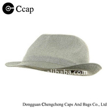 New fashion hot selling top quality plain fedora hats