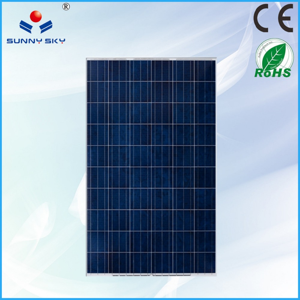 6 inch solar cell water proofed panels solar china direct factory price TYP250