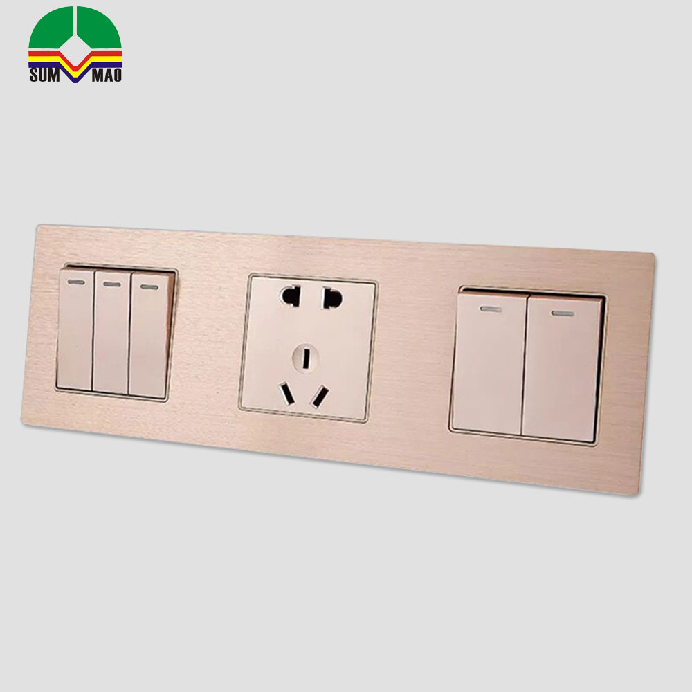 1 way 1 gang rf wireless light touch wall switch with light ,lcd 2.8 wall switch frame