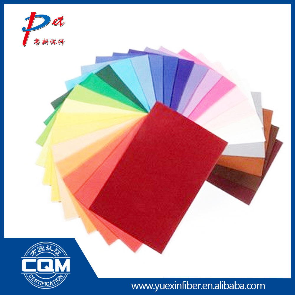 Felt hat practical materials eco-friendly non woven fabric