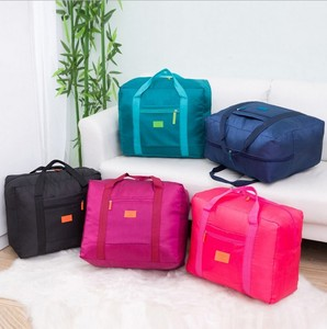 promotional New Design Waterproof Foldable ladies travel bags