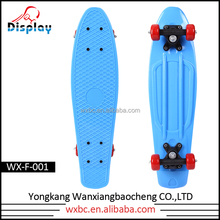 New 22 Inch CE/EN13613 plastic skateboard for skateboard