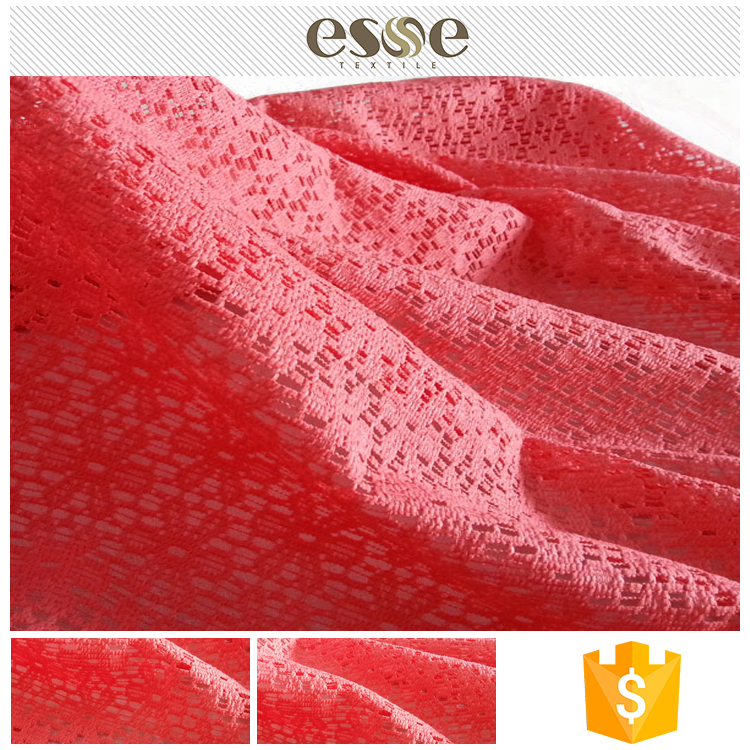 China factory made cheap women garment french lace fabric