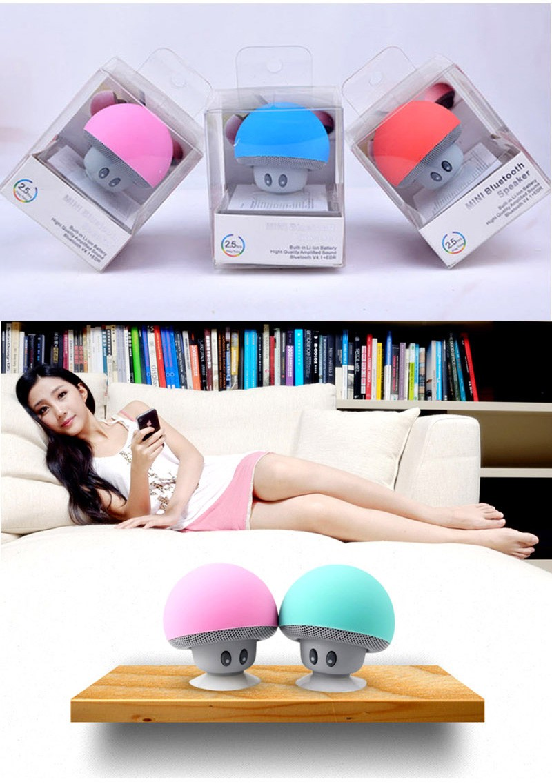 Cheap Mini Mushroom Bluetooth Speaker by JASKEY LIMITED