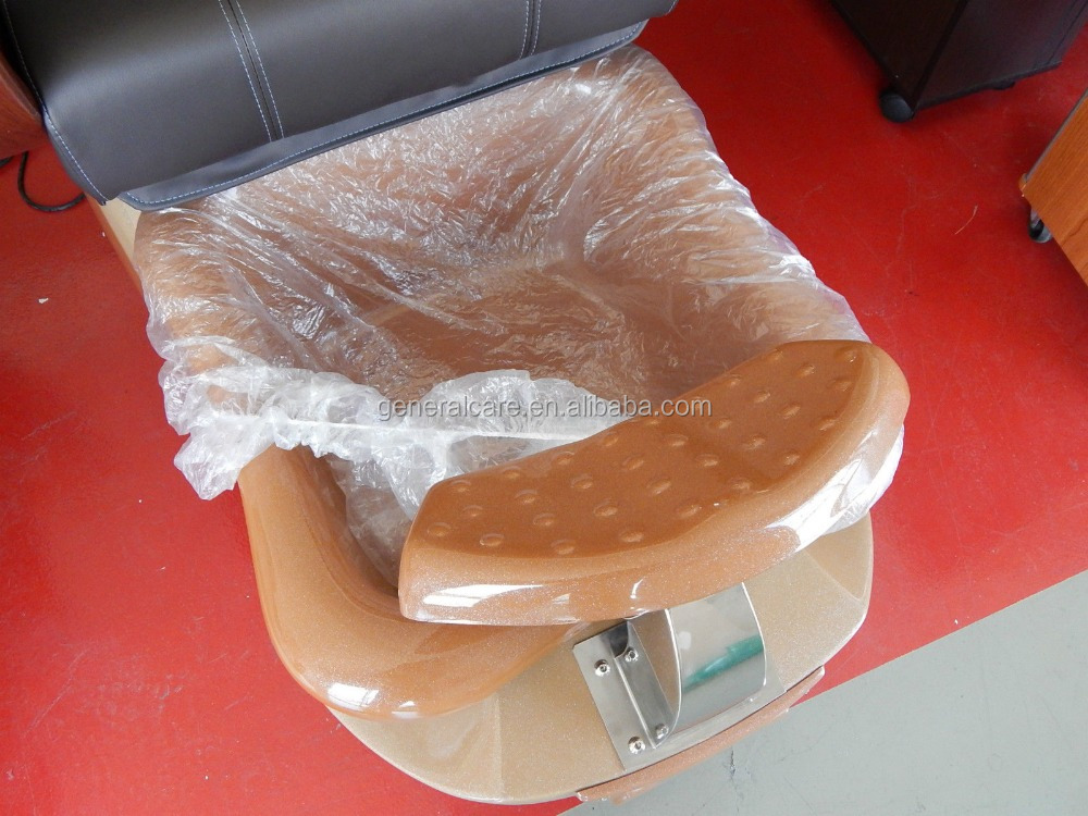 xiantao factory wholesale disposable plastic pe pedicure liner foe spa chair