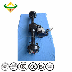 Disk brake 4000w High Power Electric Tricycle Micro Motor Car Rear Axle 3 Wheel Motorcycle