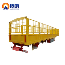 China manufacturer fence semi trucks trailers for transport agricultural products
