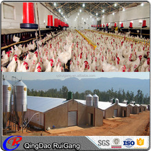 Cheap prefabricated steel barn chicken poultry shed