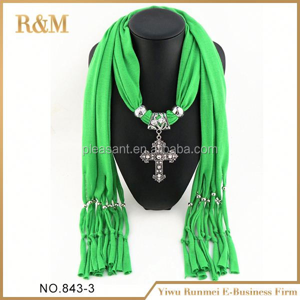 2016 Cheap fashion pendant beads large for scarf