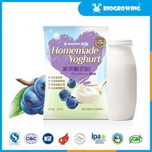 blueberry taste bifidobacterium bulgarian yogurt
