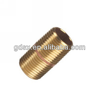 cnc machine auto lathe part high quality custom copper/ brass compression fitting for pe pipe,brass nipple fittings