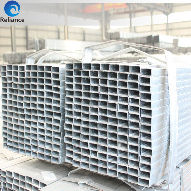 Erw technique china factory pre galvanized square steel thick wall pipe for greenhouse