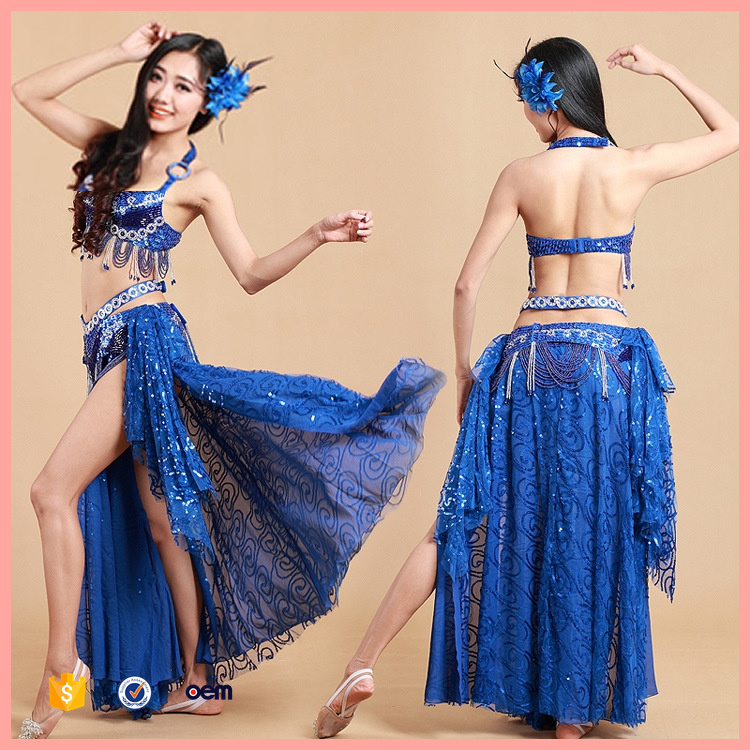2016 Summer new women beaded bra belly dance performance clothing