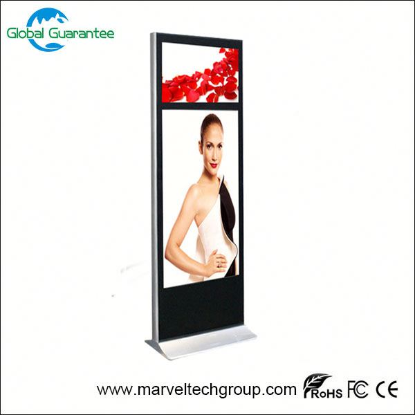 Floor standing android full hd 1080p media player with global guarantee