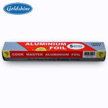 The Best and Cheapest heavy duty 30cm*5m*11mic aluminum foil paper on rol lfor food packaging