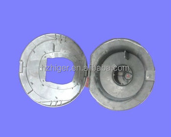 HGMC-L018 Custom cnc machined aluminum die sand casting lamp parts