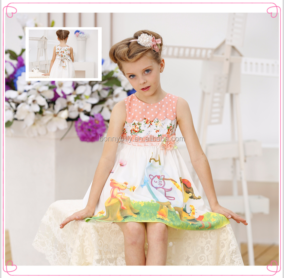 Bonnybilly Little Girls Cotton Dresses China Fashion