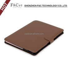 "New Arrivals Shenzhen F&C hand-crafted premium PU leather Material folio cover for macbook sleeve 11"" 12"" 13"" 15"" Compatible"