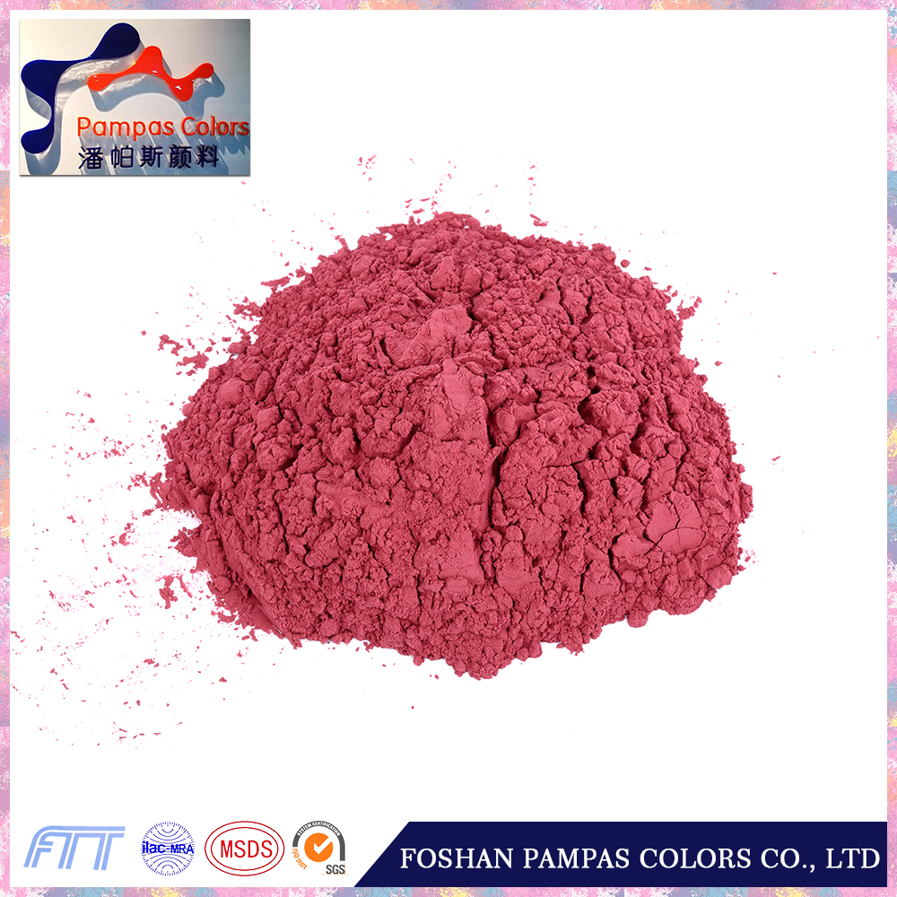 China cheap factory price of purity 98% bitum powder pigment red 110