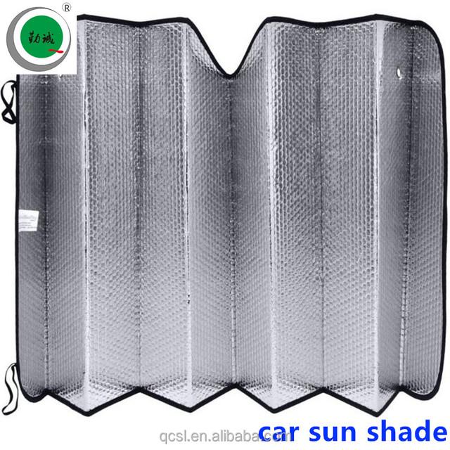 car front window sun shade cardboard for Custom Foldable Advertising printing