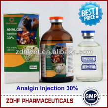 analgesic antipyretic/30% analgin injection/anti inflammatory antipyretic drugs