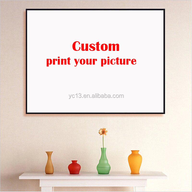 custom print designs canvas photo printing wholesale painting