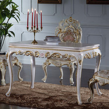 Italian french antique <strong>furniture</strong> - solid wood royalty dining table