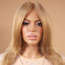 Lifesize Resin Wax Figure Beyonce Famous female figure sculpture