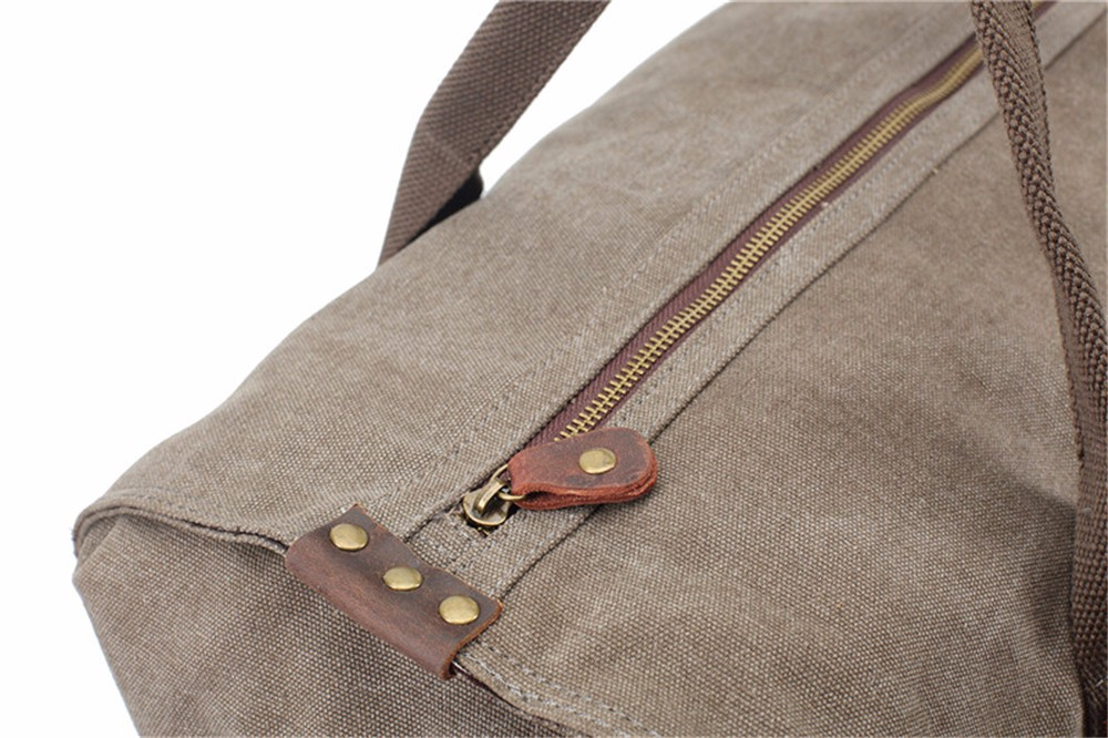 Factory High Quality Canvas Large Capacity Travel Bags Outdoor Luggage Bags