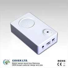 motion electronic activated sensor voice box