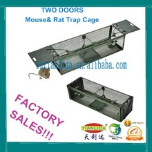 Black Cat Mouse Trap Metal Mouse Trap Cage--TLD2012