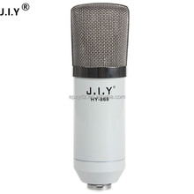 J.I.Y868 china supplier enping manufacturer cheap price condenser handheld microphone,professional recording mic