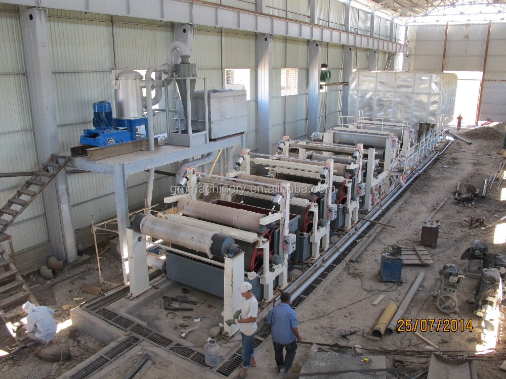 Culture paper machine,and a4 a3 B5 printing copy paper making machine