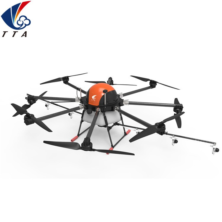 TTA 8 rotors drones/uav RTK accurate positioning system UAV for agriculture