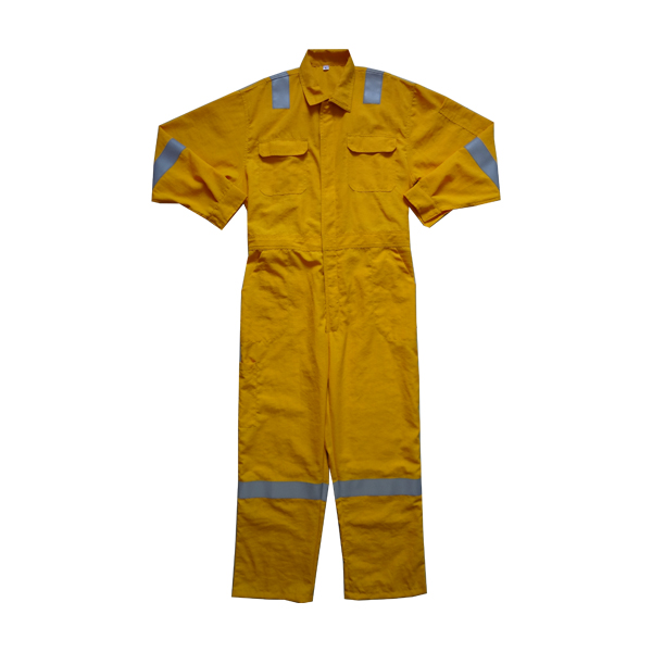 Reflective strips insulated dupont nomex coveralls