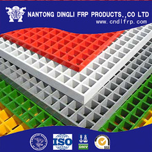 ISO approved corrosion resistant frp plastic flooring grates