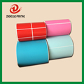colored hot sale warehouse thermal rolls stickers