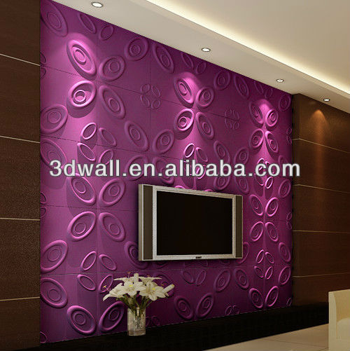 3d home bamboo stone decorative wall panel