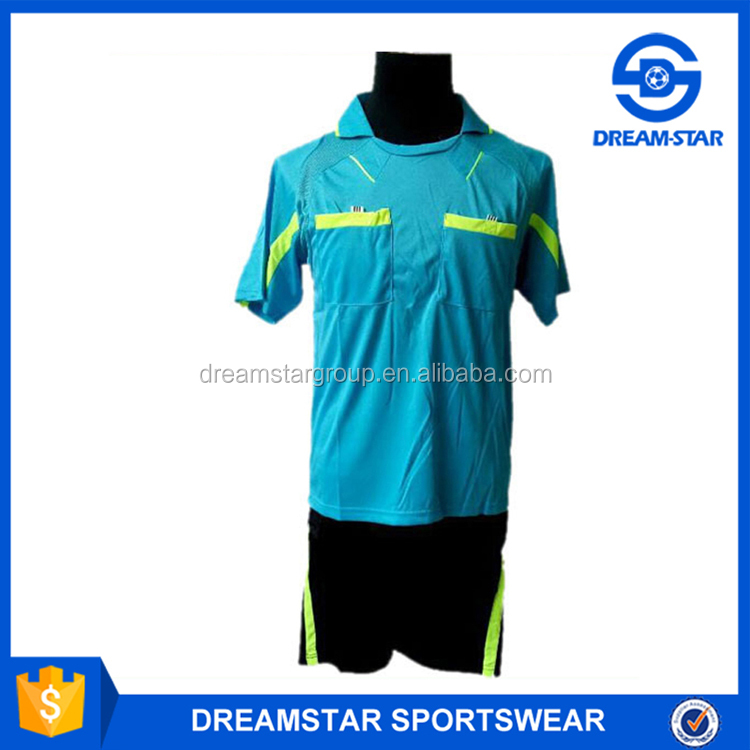 New Custom Design Jersey Referee Soccer Football Goalkeeper Jersey