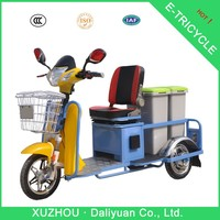 three wheel electric scooter adult three wheel bicycle for garbage