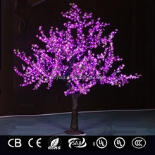 2.5m Led Christmas cherry tree Light for outdoor decoration FZ-1536 Yellow